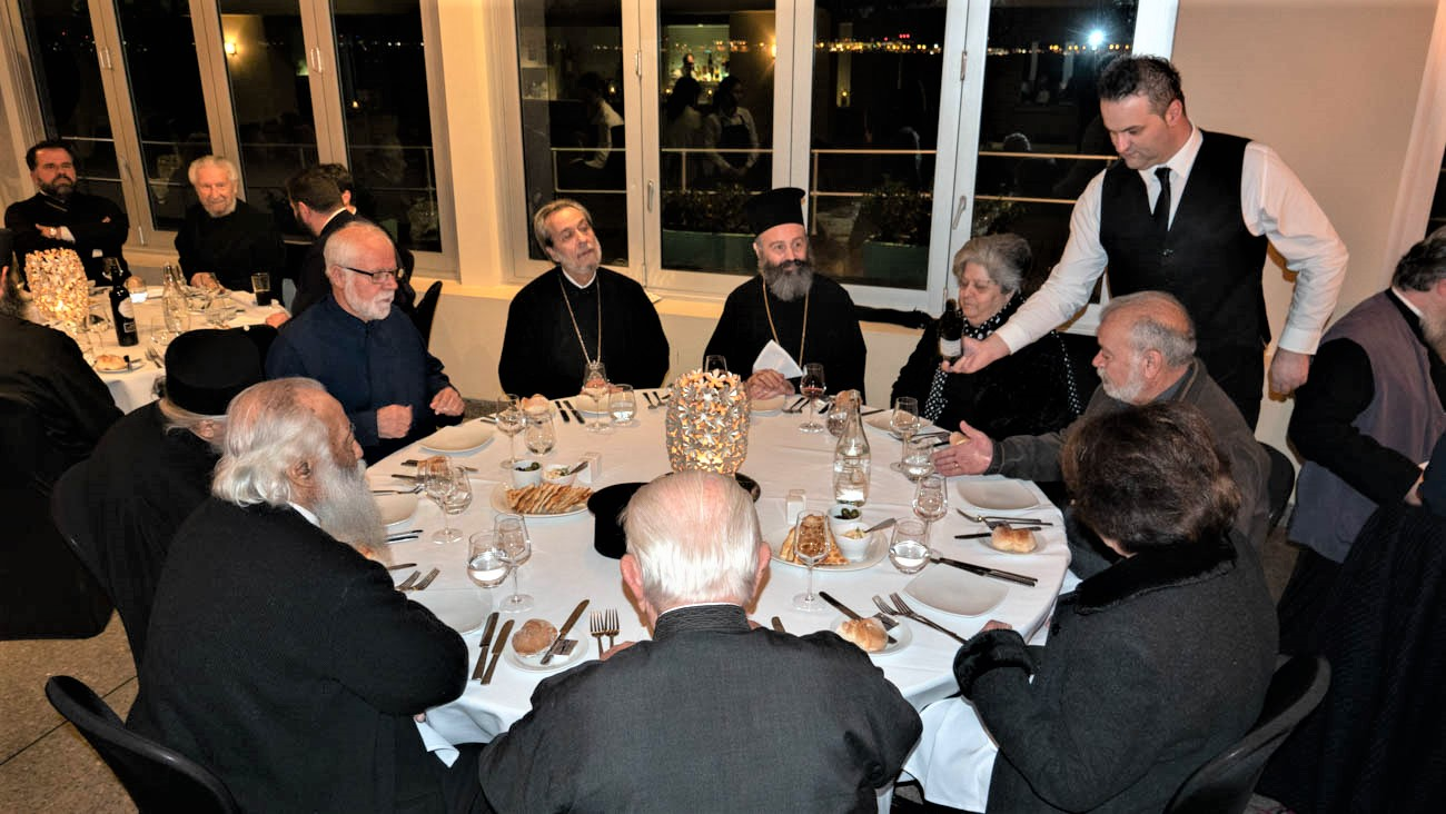 A Warm Welcome Dinner for Archbishop Makarios of Australia from the