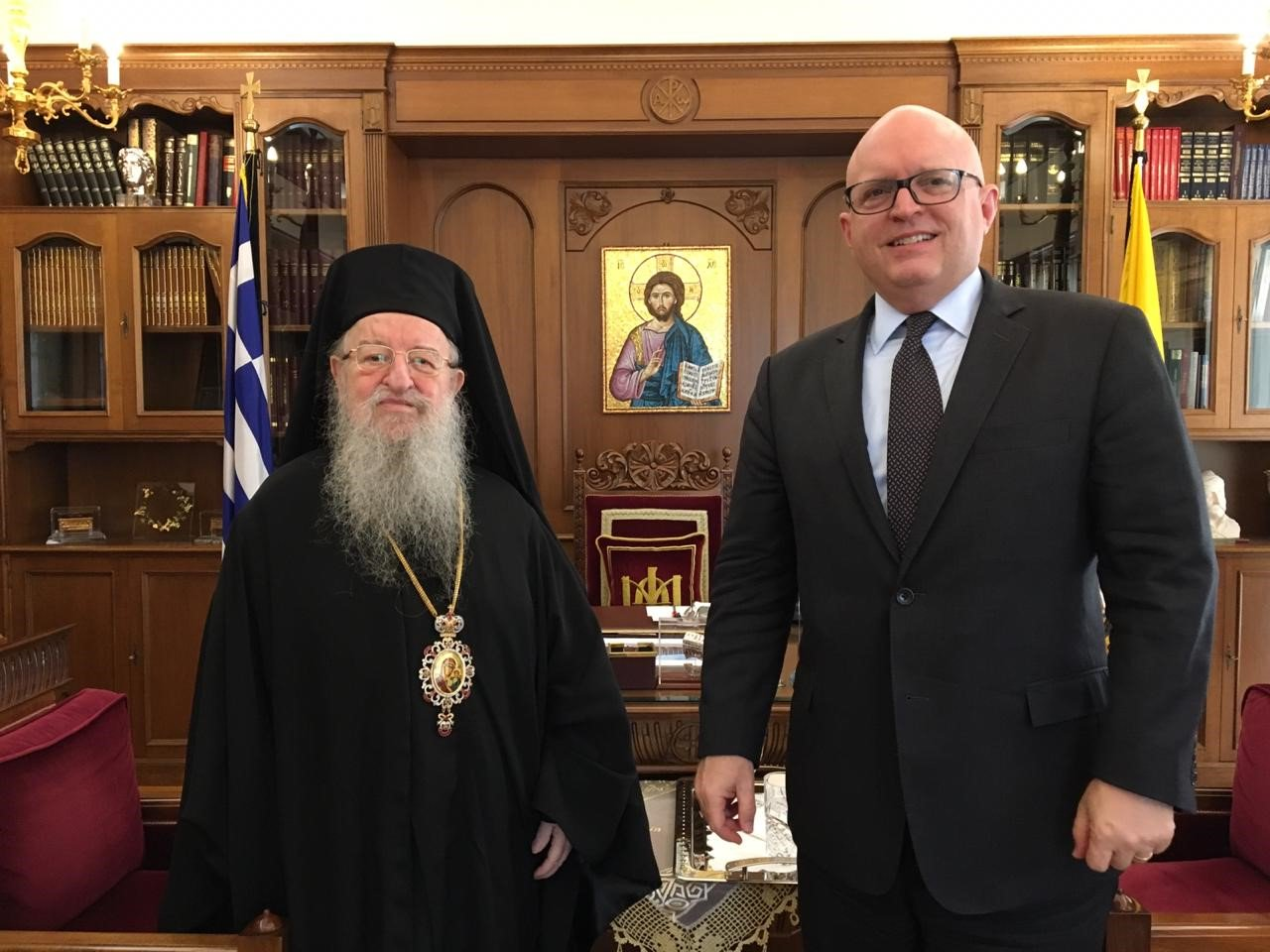 Metropolitan of Thessaloniki met US Assistant Secretary of State