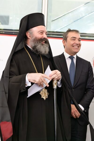 Premier of South Australia welcomed Archbishop Makarios